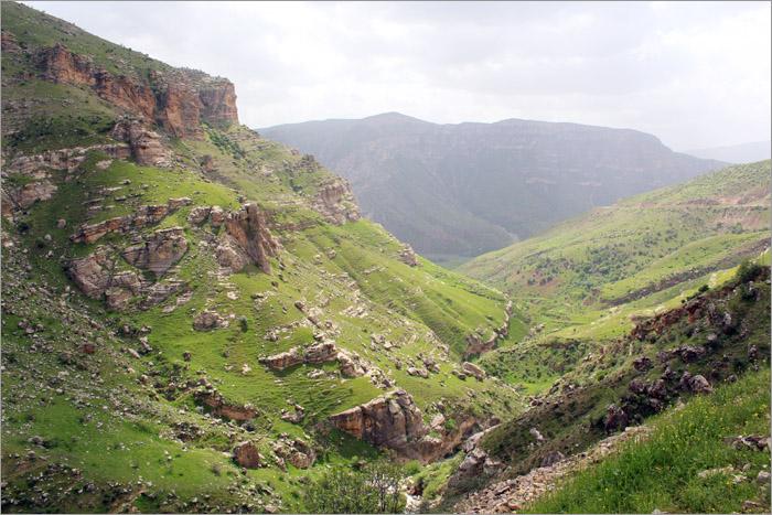 Antik Yollar : Botan vadisi antik yürüyüş yolu
